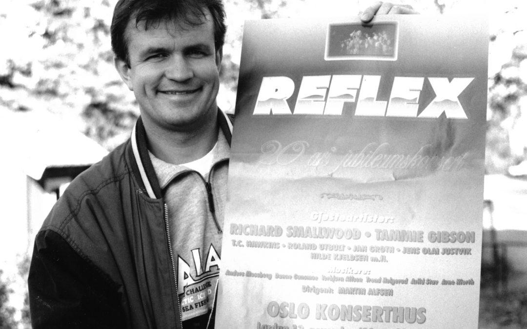 «20 av de beste» ble gitt ut til 20-års jubileet til Reflex i 1993